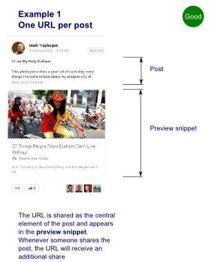 Google Plus - Post Sharing like a pro (via @elokenz)