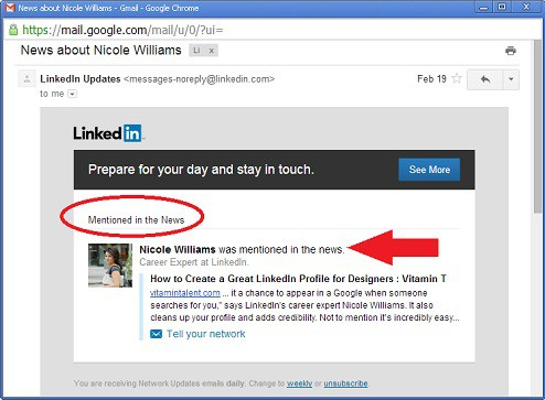 Nicole Williams Mentioned in the News LinkedIn