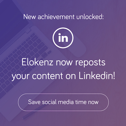 Elokenz now Reposts on Linkedin