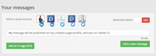 Post Update - Multi social networks