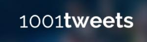 1001 Tweets Logo